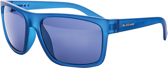 Obrázek z sluneční brýle BLIZZARD sun glasses PCSC603091, rubber trans. dark blue , 68-17-133