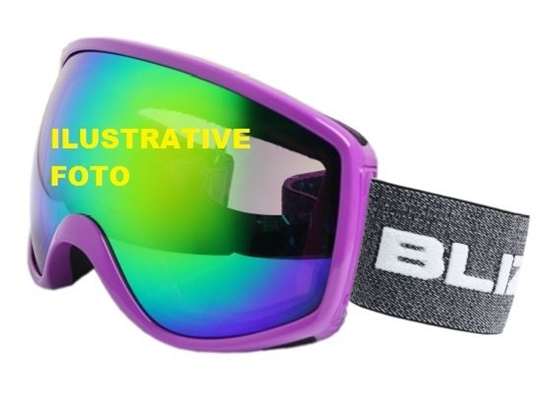 Obrázek z lyžařské brýle BLIZZARD BLIZ Ski Gog. 964 MDAVZOS, black matt, amber2, silver mirror