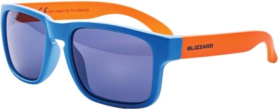 Obrázek z sluneční brýle BLIZZARD sun glasses PCC125890, bright blue matt , 55-15-123