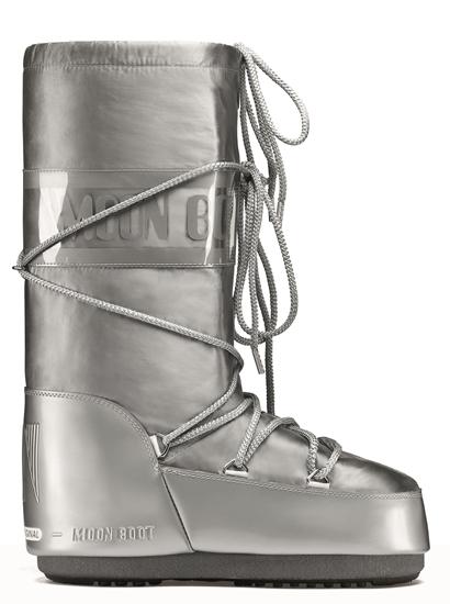 Obrázek z boty MOON BOOT GLANCE, 002 silver