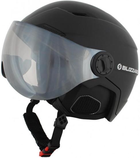 Obrázek z helma BLIZZARD Double Visor ski helmet, black matt, smoke lens, mirror