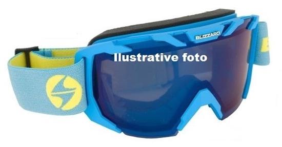 Obrázek z lyžařské brýle BLIZZARD BLIZ Ski Gog. 925 MDAZWO, black matt, orange1, infrared REVO SONAR
