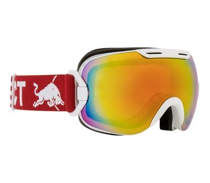 Obrázek lyžařské brýle RED BULL SPECT Goggles, SLOPE-002, matt white frame/red headband, lens: red snow CAT2