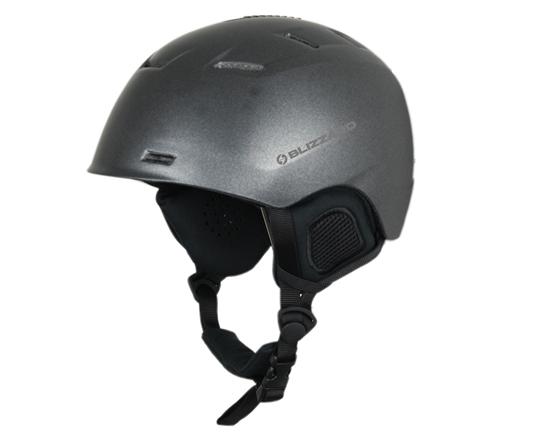 Obrázek z helma BLIZZARD Storm ski helmet, grey metallic matt