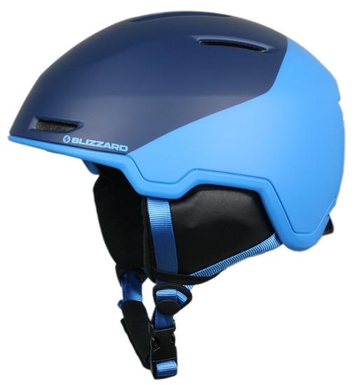 Obrázek z helma BLIZZARD Viper ski helmet junior, dark blue matt/bright blue matt