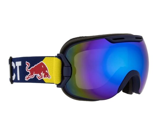 Obrázek z lyžařské brýle RED BULL SPECT Goggles, SLOPE-003, matt blue frame/blue hradband, lens: blue snow CAT3