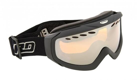 Obrázek z lyžařské brýle BLIZZARD BLIZ Ski Gog. 906 DAVZO-RENTAL, black, amber2, silver mirror