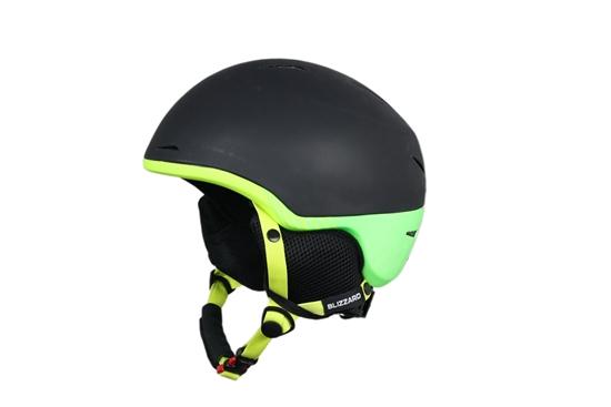 Obrázek z helma BLIZZARD Speed ski helmet junior, black matt/neon yellow matt/neon green matt