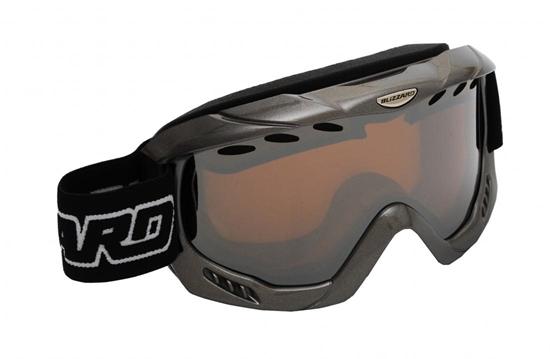 Obrázek z lyžařské brýle BLIZZARD BLIZ Ski Gog. 911 MDAVZO, black matt, amber2, silver mirror