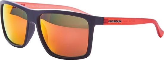Obrázek z sluneční brýle BLIZZARD sun glasses PCSC801192, rubber black, 65-17-140