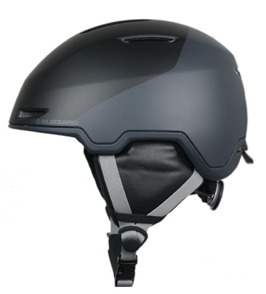 Obrázek helma BLIZZARD Viper ski helmet, black matt/grey matt