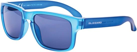 Obrázek z sluneční brýle BLIZZARD sun glasses PCC125333, blue trans. matt, 55-15-123