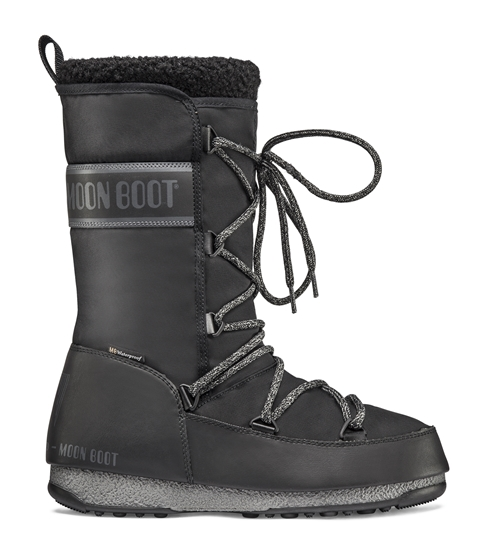 Obrázek z boty MOON BOOT MONACO WOOL WP, 001 black