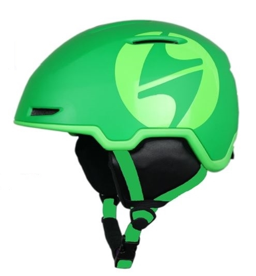 Obrázek z helma BLIZZARD Viper ski helmet, dark green matt/bright green matt