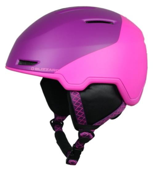 Obrázek z helma BLIZZARD Viva Viper ski helmet junior, violet matt/pink matt