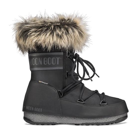 Obrázek z boty MOON BOOT MONACO LOW WP 2, 001 black