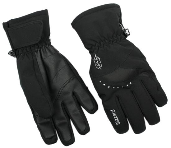 Obrázek z lyžařské rukavice BLIZZARD Viva Davos, black