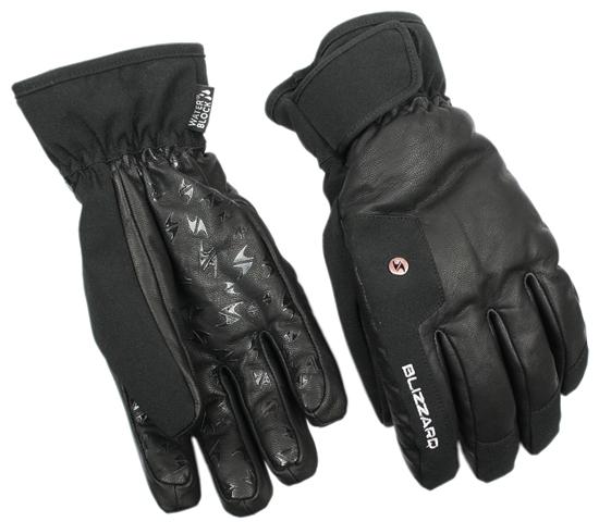 Obrázek z lyžařské rukavice BLIZZARD Schnalstal ski gloves, black, AKCE