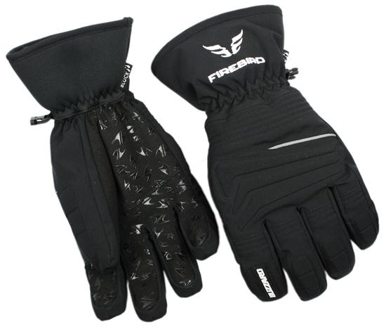 Obrázek z lyžařské rukavice BLIZZARD Firebird ski gloves, black