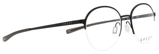 Obrázek z brýlové obruby SPECT Frame, CARLTON-001, black, 49-19-140
