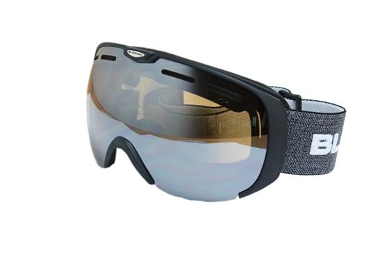 Obrázek z lyžařské brýle BLIZZARD Ski Gog. 921 MDAVZSO, black matt, amber2, silver mirror