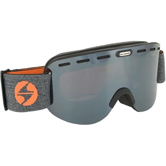 Obrázek z lyžařské brýle BLIZZARD Ski Gog. 922 MDAVZO, black matt, amber2, silver mirror