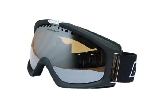 Obrázek z lyžařské brýle BLIZZARD BLIZ Ski Gog. 933 MDAVZS, black matt, amber 2, silver mirror