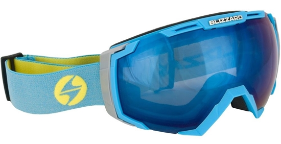 Obrázek z lyžařské brýle BLIZZARD BLIZ Ski Gog. 926 DAVZSO, neon blue, smoke2, blue mirror