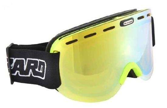 Obrázek z lyžařské brýle BLIZZARD Ski Gog. 922 MDAVZO, neon green matt, smoke2, blue mirror