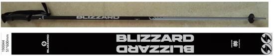 Obrázek z lyžařské hůlky BLIZZARD Allmountain ski poles, black shiny/silver