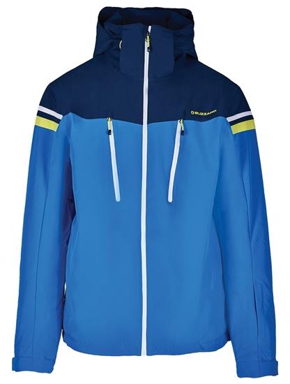 Obrázek z lyžařská bunda BLIZZARD Mens Ski Jacket Civetta, bright blue/dark blue/white
