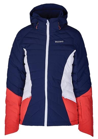 Obrázek z lyžařská bunda BLIZZARD Viva Ski Jacket Pinzolo, dark blue/rosa/white