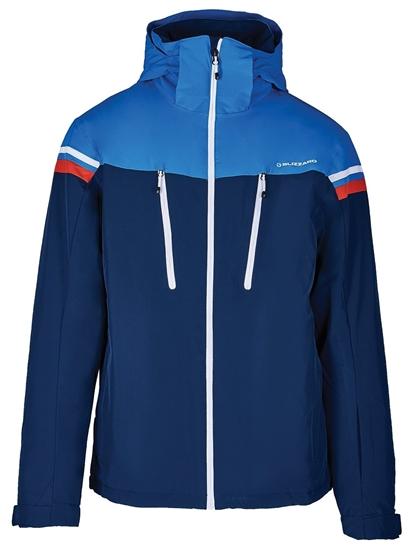 Obrázek z lyžařská bunda BLIZZARD Mens Ski Jacket Civetta, dark blue/bright blue/white