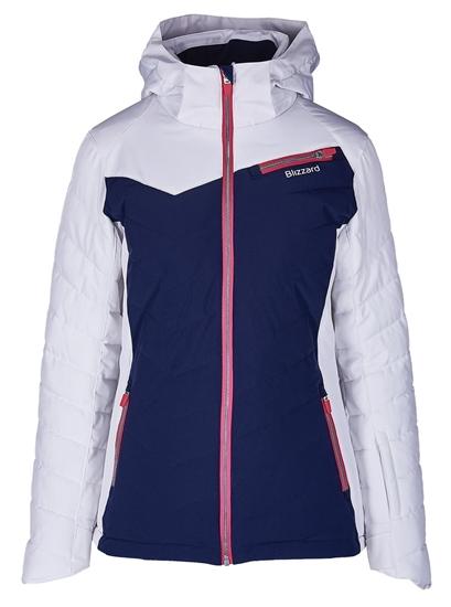 Obrázek z lyžařská bunda BLIZZARD Viva Ski Jacket Carezza, dark blue/white/light grey/pink