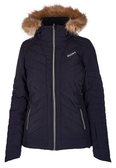 Obrázek z lyžařská bunda BLIZZARD Viva Ski Jacket Cortina, black/bronze