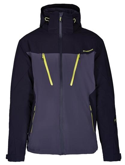 Obrázek z lyžařská bunda BLIZZARD Mens Ski Jacket Stelvio, grey/black/neon yellow