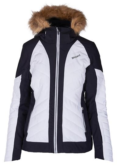 Obrázek z lyžařská bunda BLIZZARD Viva Ski Jacket Cortina, white/black/silver