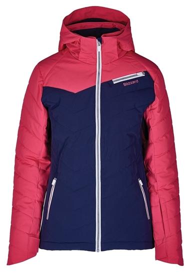 Obrázek z lyžařská bunda BLIZZARD Viva Ski Jacket Carezza, dark blue/pink/white