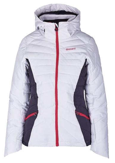 Obrázek z lyžařská bunda BLIZZARD Viva Ski Jacket Pinzolo, white/dark grey/pink