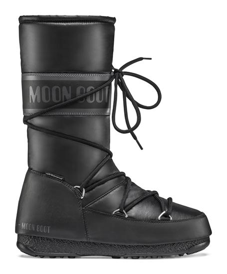 Obrázek z boty MOON BOOT HIGH NYLON WP, 001 black