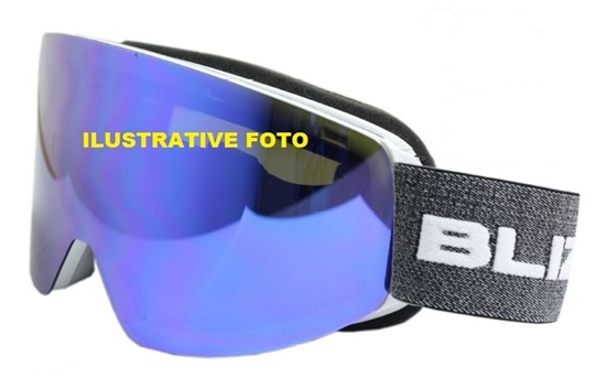 Obrázek z lyžařské brýle BLIZZARD BLIZ Ski Gog. 932 DAZO, black , smoke2, black mirror