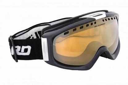 Obrázek lyžařské brýle BLIZZARD BLIZ Ski Gog. 933 MDAVSF, black metallic, amber2-3, silver mirror