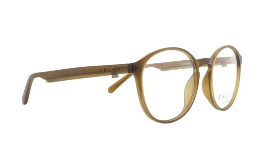 Obrázek z brýlové obruby SPECT Frame, TULUM-004, transparent olive green, 50-18-145