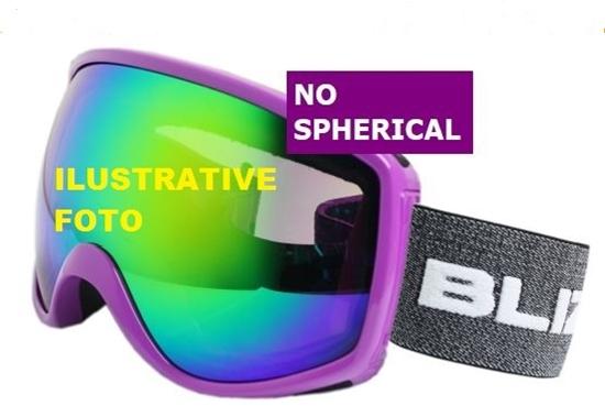 Obrázek z lyžařské brýle BLIZZARD BLIZ Ski Gog. 963 DAO, black, amber1, silver mirror