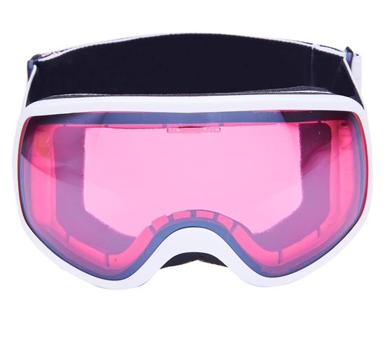 Obrázek z lyžařské brýle BLIZZARD BLIZ Ski Gog. 963 DAO, white shiny, rosa1, silver mirror