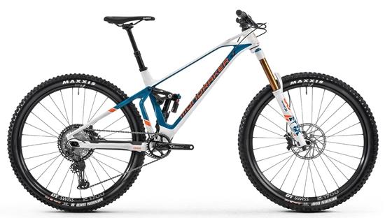 Obrázek z horské kolo MONDRAKER Super Foxy Carbon R, white/petrol/fox orange, 2020