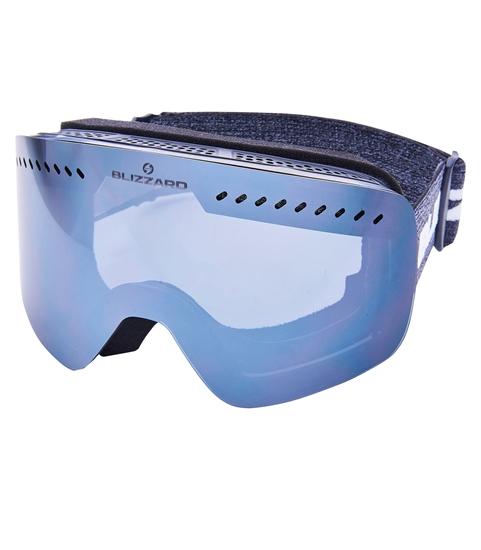 Obrázek z lyžařské brýle BLIZZARD Ski Gog. 985 DAZO, black, smoke2, silver mirror