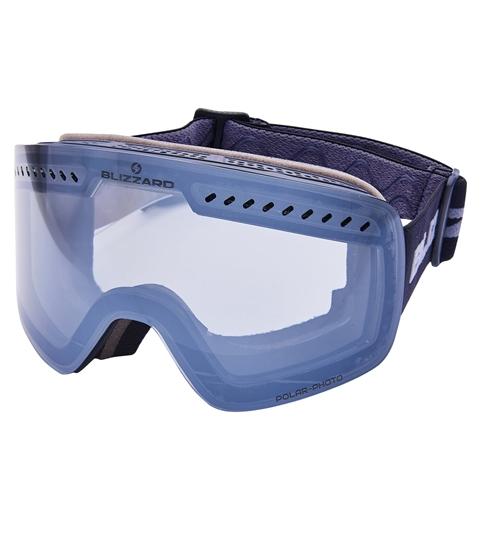 Obrázek z lyžařské brýle BLIZZARD Ski Gog. 985 MDAVFOO, black matt, 1-3, silver mirror