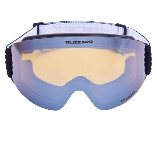 Obrázek z lyžařské brýle BLIZZARD BLIZ Ski Gog. 932 MDAFO, black , amber1-3, silver mirror