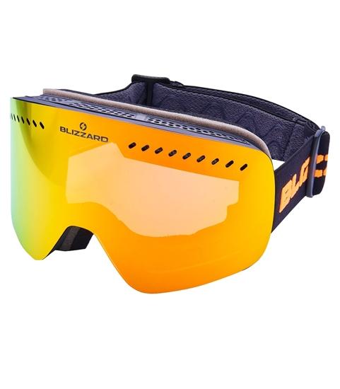 Obrázek z lyžařské brýle BLIZZARD Ski Gog. 985 MDAVZO, black matt, smoke2, red revo